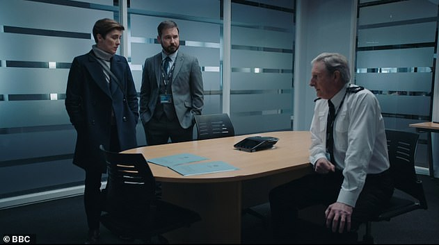 An eye-watering 12.8million viewers tuned in to watch Line Of Duty 's sixth season on Sunday night with a 56.2% share in the overnights - recording the network's highest ever overnight rating