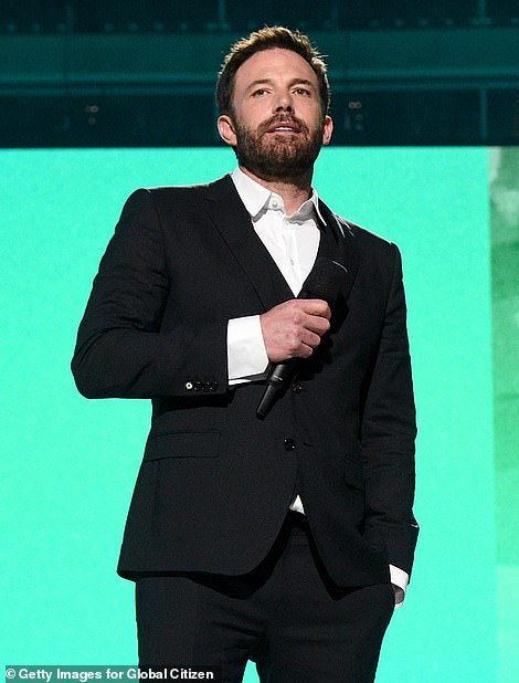 Friends: His friendship with former flame Ben Affleck has been in the spotlight since they were seen hanging out over the weekend before meeting at the concert