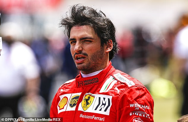 Carlos Sainz qualified fifth for Ferrari but tyre issues on race day saw him finish only 11th