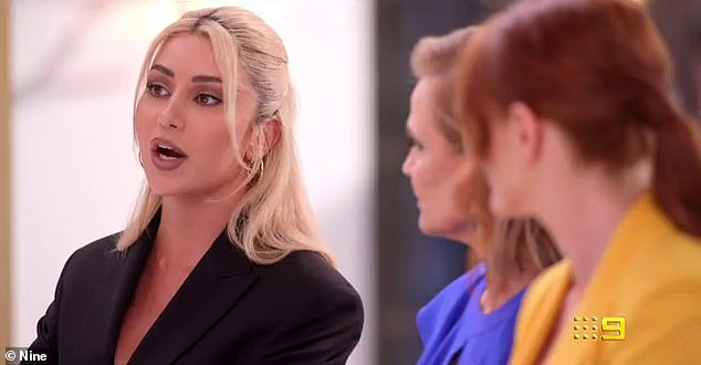 Fight club:Martha later gets in a verbal altercation with another contestant, insisting she did some cooking in a challenge, but other say she did not hold up her end