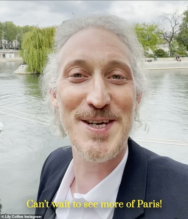 Beauty everywhere: Bruno Gouery, who plays colleague Luc, said he 'couldn't wait to see more of Paris'