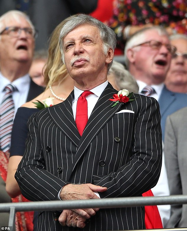 Stan Kroenke has overseen a miserable, steady decline over the last decade in north London