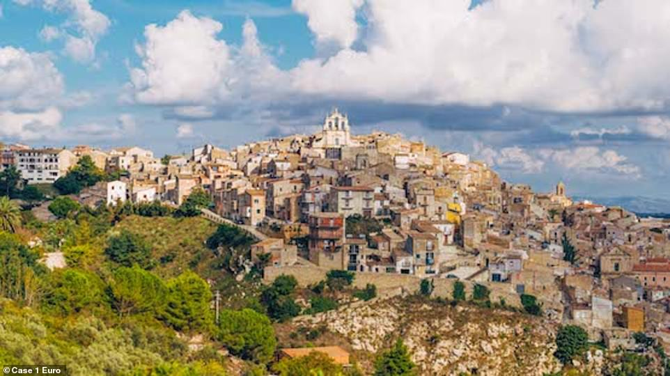 Bright idea! Mussomeli, which is home to Byzantine caves and a medieval castle, was one of the first Italian cities to offer the budget homes