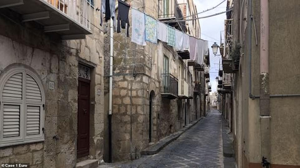 Empty:The municipality explains that so many homes remain empty because the people who lived in them have died, and their children and grandchildren choose to live in other cities