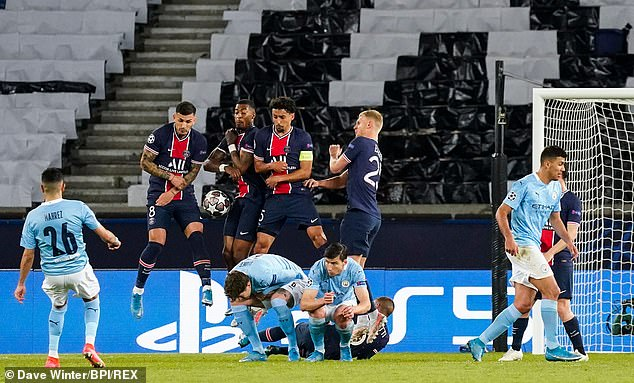 PSG face Manchester City in their Champions League semi-final second leg on Tuesday night