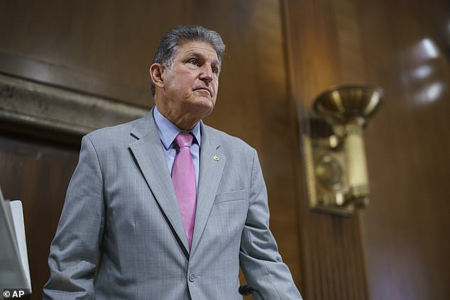Democratic Sen. Joe Manchin said in an interview with USA Today that former President Donald Trump, a Republican, called him all the time. He also said he wanted 'to stay and fight' during the January 6 MAGA riot