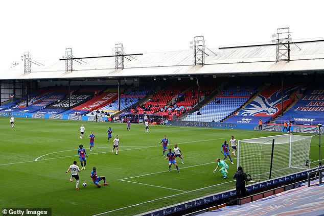 Grounds like Selhurst Park would struggle to reach the figure of 10,000 set by the Government