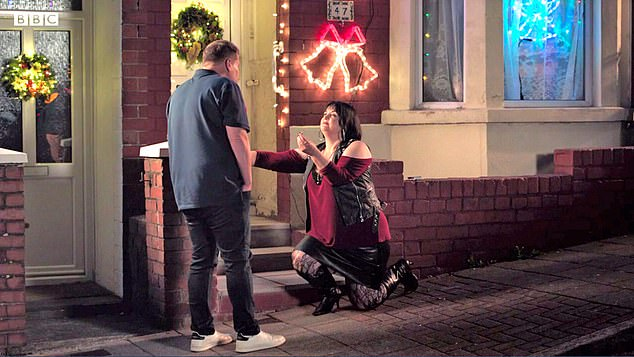James Corden and Ruth Jones in the much-loved British comedy Gavin and Stacey