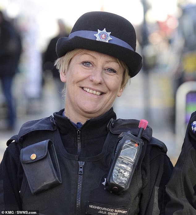 Julia James, a serving PCSO for Kent Police for 15 years, was discovered battered to death beside a woodland path in Kent after taking her terrier for a walk