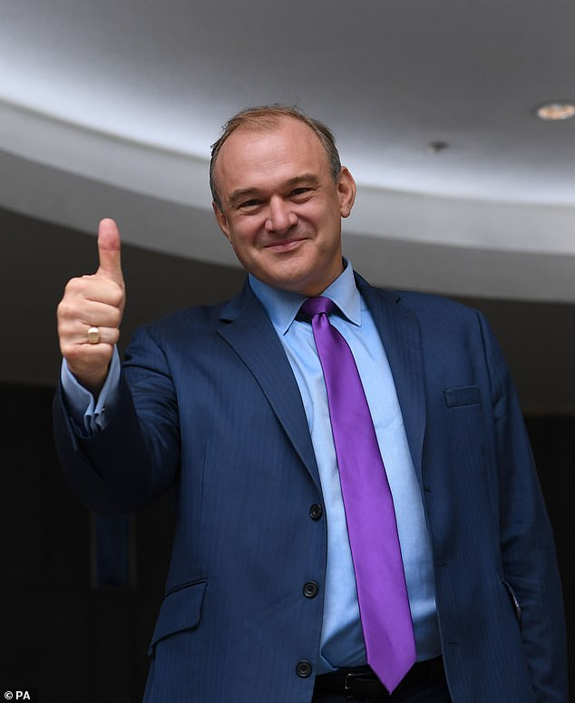 Big government looks set to dominate our lives for possibly decades to come and no one seems to be offering a proper opposition to the rise of this badgering regime. Pictured: Ed Davey
