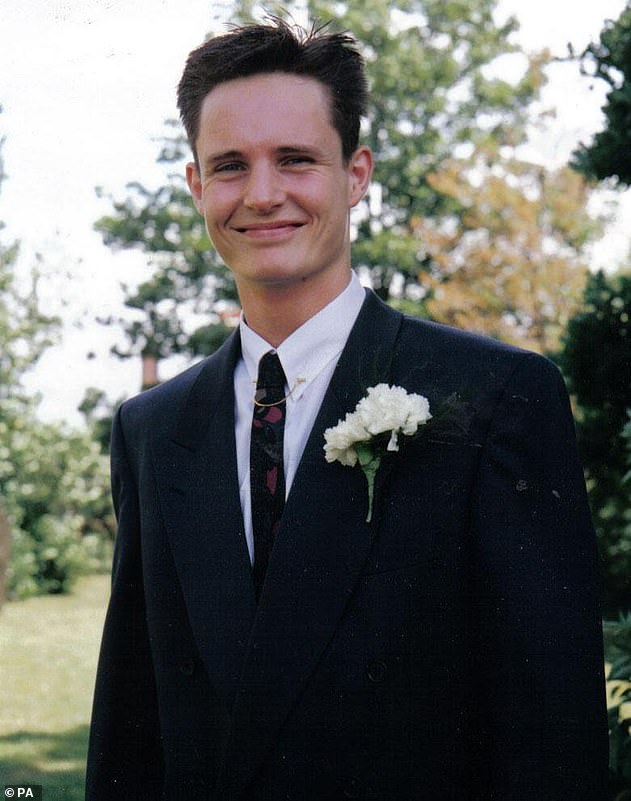 Mr Lubbock, 31, (pictured) attended a party at Barrymore's luxury home in Roydon with eight other people when he died