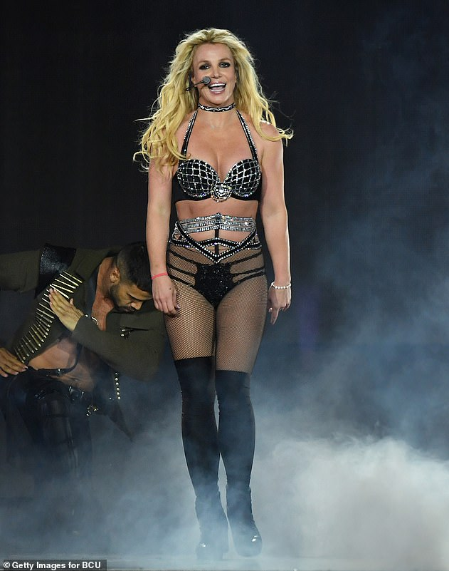 Britney, pictured in 2018, was made the subject of a conservatorship in 2008 following her high profile mental health crisis. The legal move gave her father control over her estate and finances as well as the authority to make decisions on her behalf regarding her welfare