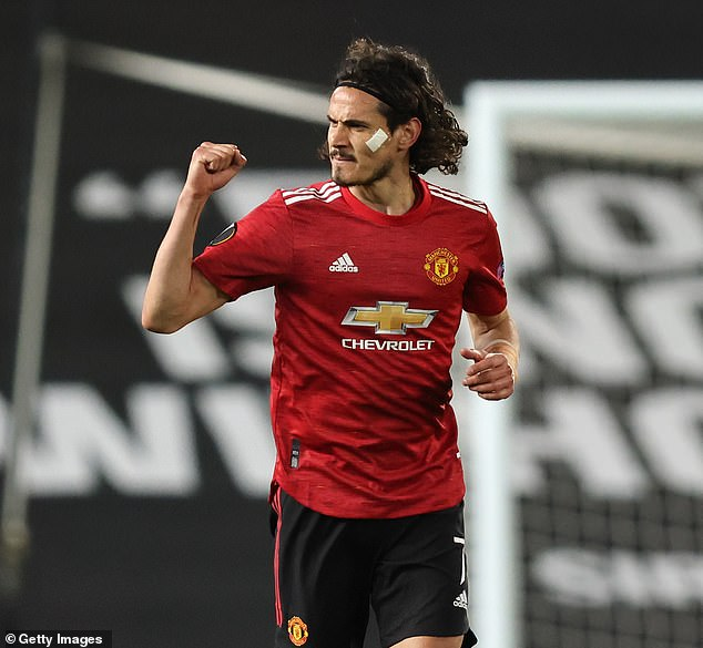 Edinson Cavani has revealed he is eager to 'leave something behind' at Manchester United