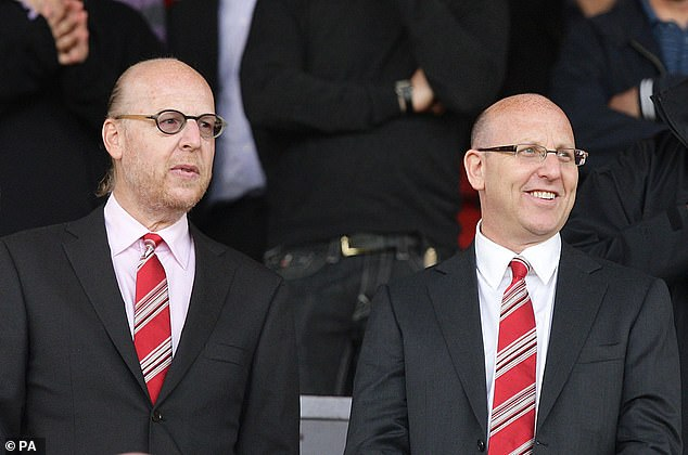 Avram Glazer (left) and his brother Joel (right) are unpopular among the Red Devils supporters