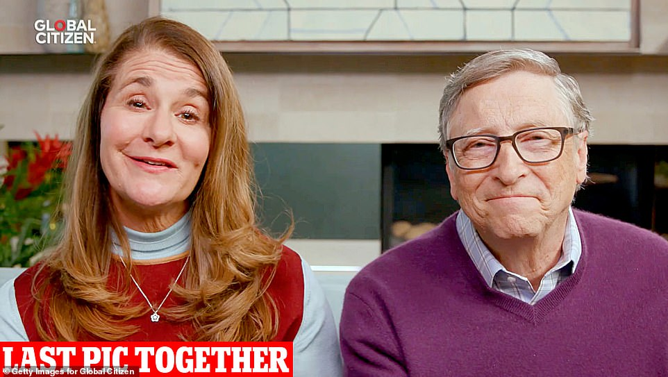 They also established the world's largest charitable foundation, the Bill and Melinda Gates Foundation, in 2000 which has contributed more than $50billion to causes including eradicating polio and malaria. The foundation has also been a major investor in coronavirus treatments.