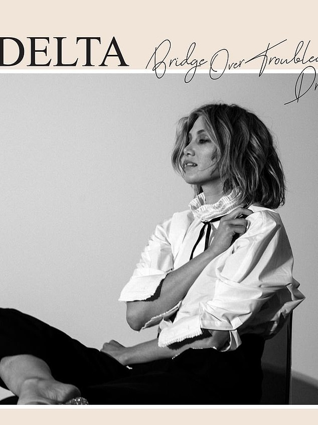 Debut book: Delta Goodrem's book Bridge Over Troubled Dreams comes out on May 14