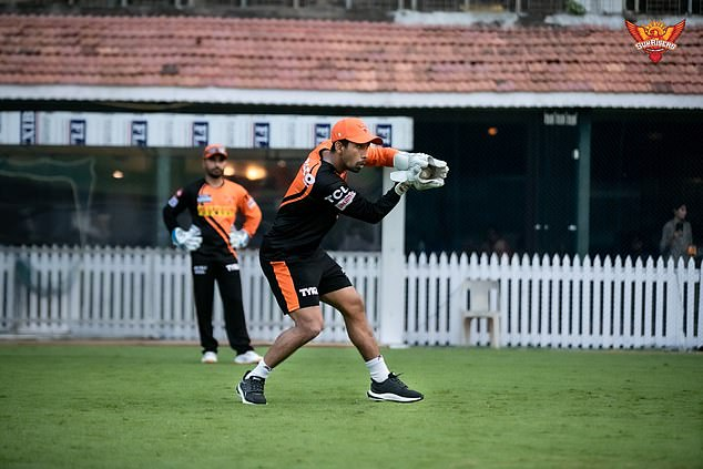 The 36-year-old wicketkeeper batsman returned a positive ahead of their game on Tuesday