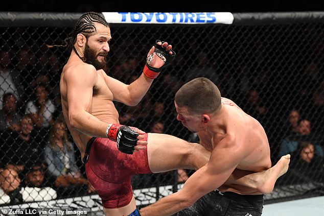 Diaz was last in action over 18 months ago when he took on Jorge Masvidal at UFC 244