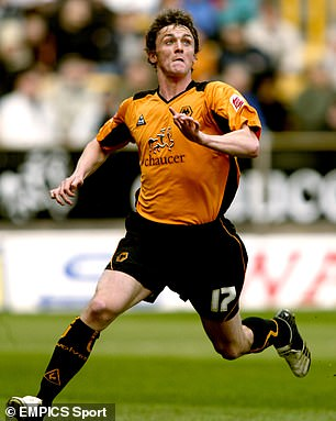 He then went on to play for the likes of Wolves (pictured) and Millwall in England