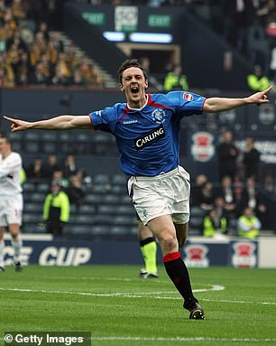 Ross played for Rangers early in his career, making 108 appearances across seven seasons