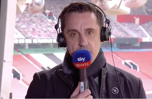 Gary Neville has often underlined his unhappiness at the current standard of Old Trafford