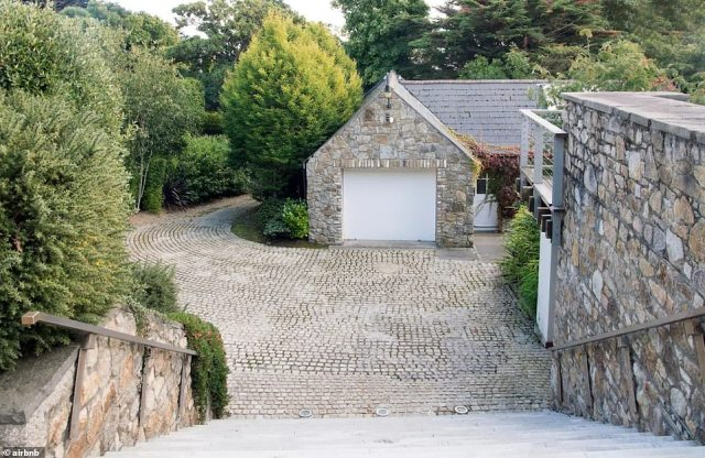 Exterior: The home, which was built for and owned by former Ferrari Formula 1 driver Eddie Irvine in 1993, finally sold on April 15 after two decades on and off the market