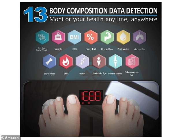 The scale allows you to gain insight in to 13 essential measurements and connects with fitness apps to help you track your progress