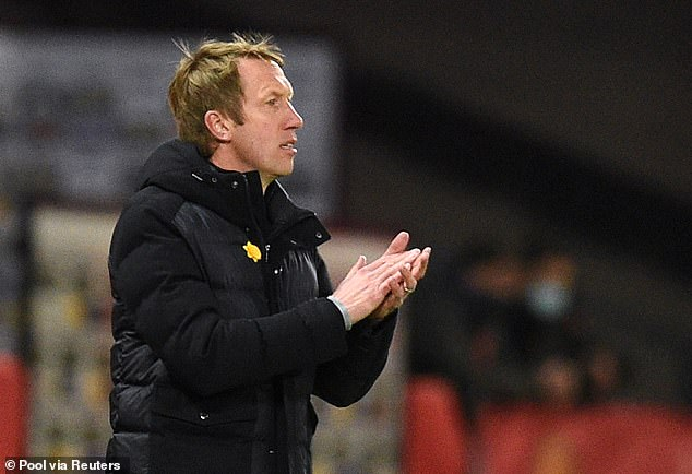 Danny Murphy believes Graham Potter (above) could be a good fit as Tottenham's new boss