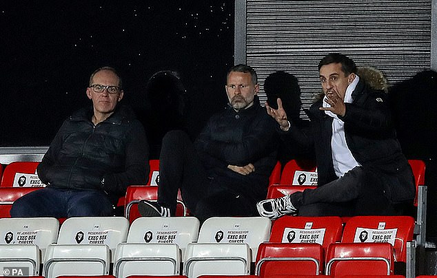 As well as his punditry work with Sky, Neville is a co-owner of League Two outfit Salford City