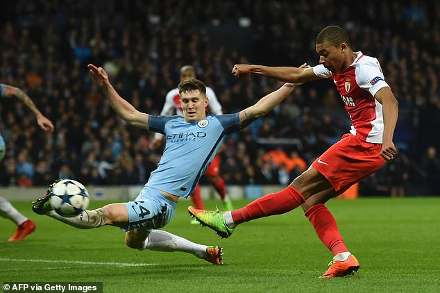 Back in 2017, it was at the Etihad that an 18-year-old Mbappe announced himself to the world