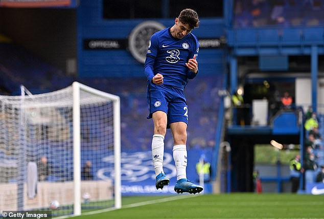 Kai Havertz proved the difference for Chelsea as they eased to a routine 2-0 win over Fulham
