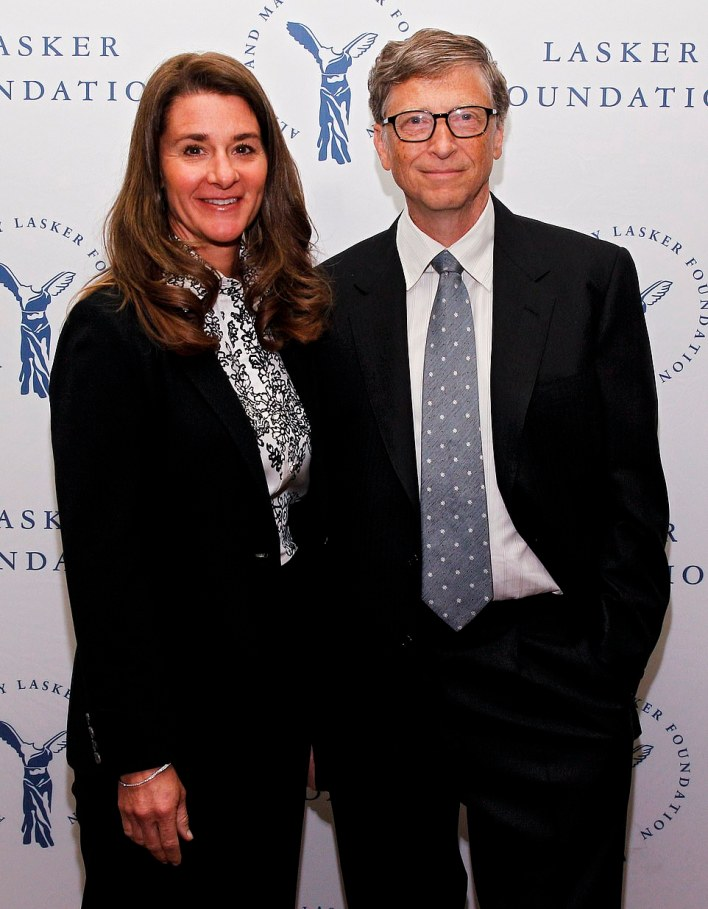 Melinda Gates is set to become the latest member of Silicon Valley's billionaire ex-wives club after announcing her marriage to husband Bill (pictured together in 2017) is 'irretrievably broken', joining MacKenzie Scott, the former spouse of Amazon founder Jeff Bezos