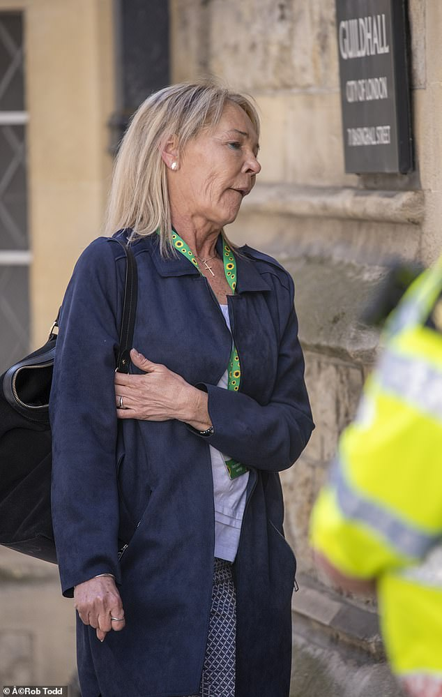 Michelle Jones (pictured), the mother of Saskia Jones, said in a witness statement to the inquests that her daughter was initially unsure of whether to attend the Fishmongers' Hall event - only deciding to go the day beforehand