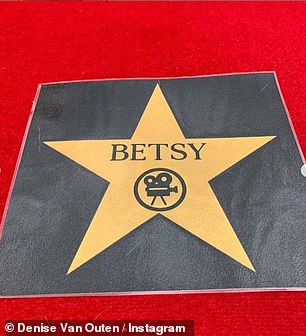 Walk This Way: Betsy Was Going To Feast As She Had Her Own Walk Of Fame Star