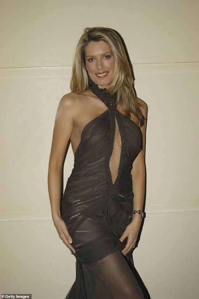 Catwalk star: Tara began modelling at the age 14, before turning her attentions to writing, publishing her first novel, Fetish, in 1999. Pictured in 2003