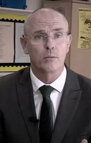 In February last year, the trust hired controversial teacher Barry Smith, pictured, in a consultancy role to help tackle poor behaviour, with teachers handing out thousands of detentions