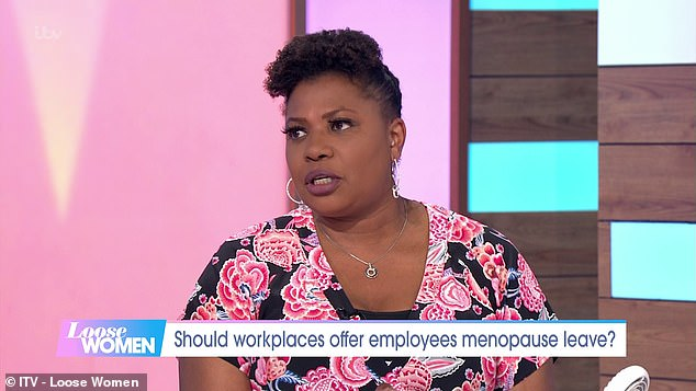 Brenda, 52, agreed that while she suffers from symptoms herself, she's an 'open person' and will happily discuss any additional needs she may have in the workplace