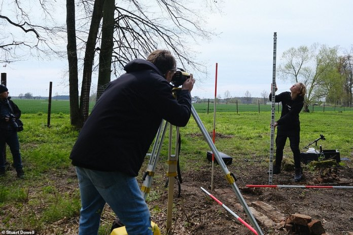 It is thought treasures, stolen on the orders of SS boss Heinrich Himmler to set up a Fourth Reich, are buried at the site
