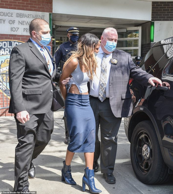 Jessica Beauvais, 32, faces 13 charges after allegedly striking NYPD police officer with her car on the Long island Expressway
