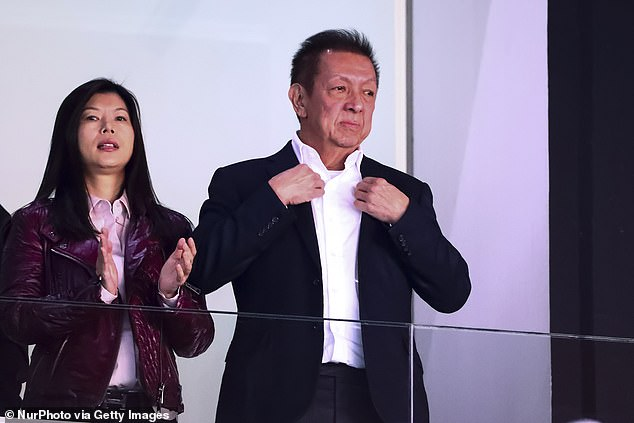 Fans have now called on Neville to help them get rid of controversial owner Peter LIm