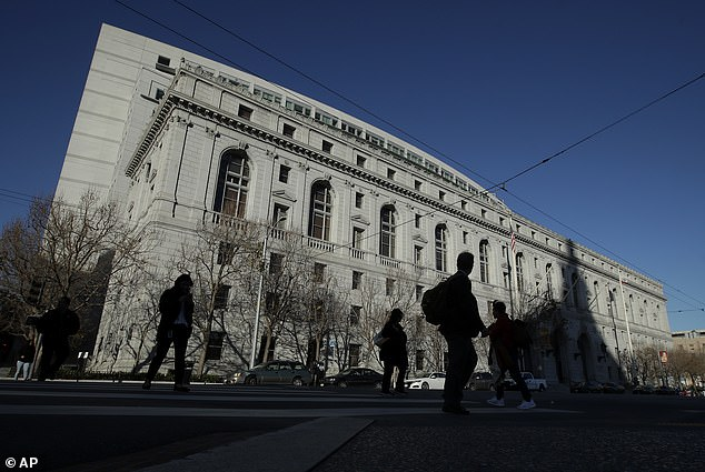 California's Supreme Court overturned Sandi Nieves' death sentence on Monday, citing 'misconduct' by the trial court, but upheld the 57-year-old's conviction for the 1998 murders of her four young daughters. Pictured: The headquarters of the Supreme Court of California [File photo]