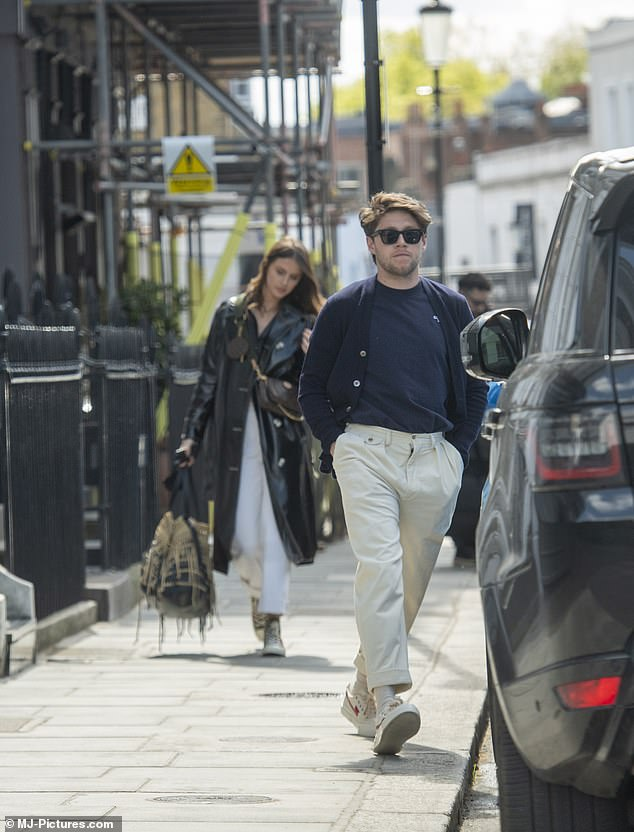 Couple: Amelia is Niall's first serious girlfriend after split from actress Hailee Steinfeld, 24, in 2018