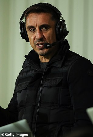 He accused the pundit and his colleagues of 'sparking a riot' rather than talking about football