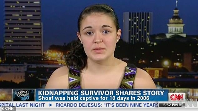 Shoaf went on to speak about her ordeal in occasional interviews. The college graduate now works as a dental assistant. Pictured: Elizabeth Shoaf in 2013