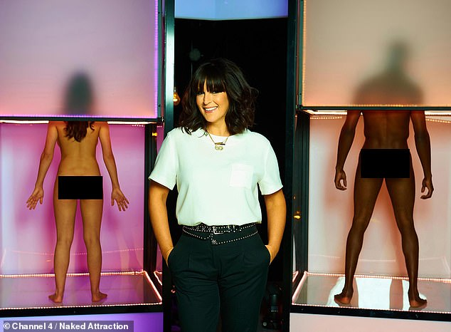 Presenter: Anna has worked on dating show Naked Attraction (pictured) for the past five years and said she 'can't wait' to get started on the 'classic' home renovation show