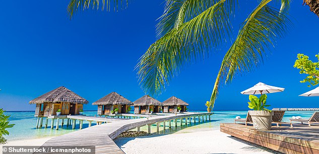 Michael Slater is already in the island paradise of the Maldives (stock image) - and other Australian players could follow suit