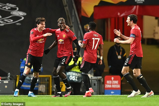 Pogba has been in stunning form and dazzled against Roma in the Europa League semi-final
