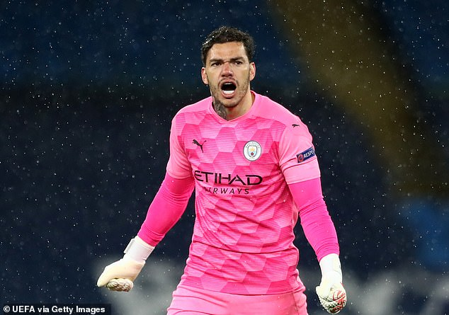 Ederson's range of passing on the night probed he's the best passing goalkeeper in the world