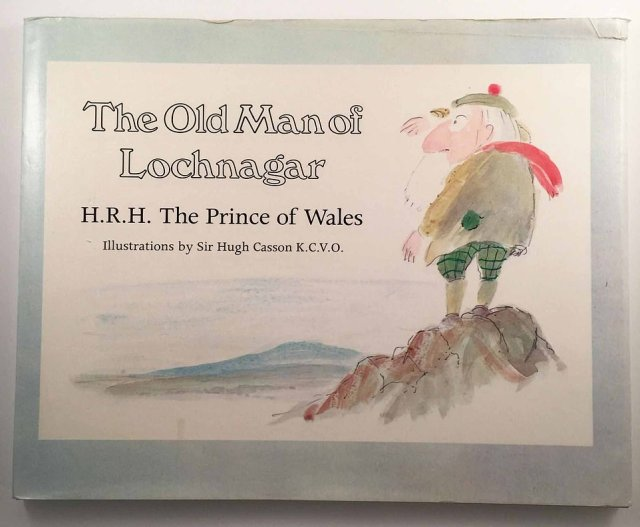 Other royals to have written books include Prince Charles, who penned A Vision of Britain: A Personal View of Architecture (1989) and a children's book, The Old Man of Lochnagar (pictured), in 1989