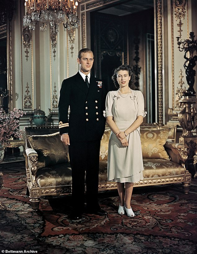 His second occupation is listed as 'husband of Her Majesty Queen Elizabeth II, The Sovereign' (pictured together)